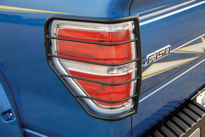 Headlights & Tail Lights - Tail Light Covers - Sportsman - Ford F150 Sportsman Taillight Guards