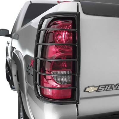 Sportsman - Chevrolet Silverado Sportsman Taillight Guards
