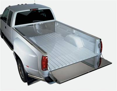 Suv Truck Accessories - Tail Gate Lock - Putco - GMC Sierra Putco Full Tailgate Protector - 59108