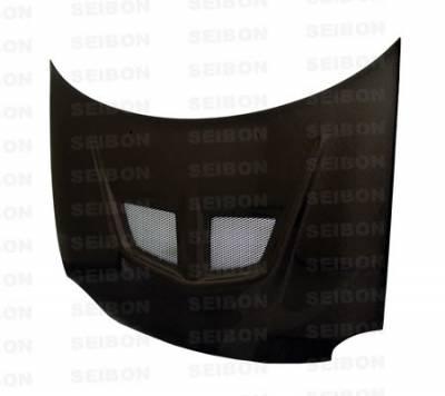 Neon 4Dr - Hoods - Seibon - Dodge Neon Seibon EVO Style Carbon Fiber Hood - HD0002DGNE-EVO