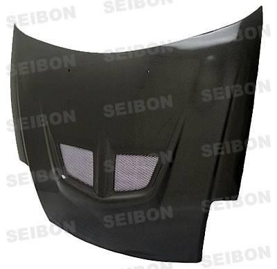 Eclipse - Hoods - Seibon - Mitsubishi Eclipse Seibon EVO Style Carbon Fiber Hood - HD0005MITEC-EVO