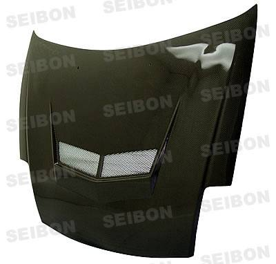 Eclipse - Hoods - Seibon - Mitsubishi Eclipse Seibon VSII Style Carbon Fiber Hood - HD0005MITEC-VSII