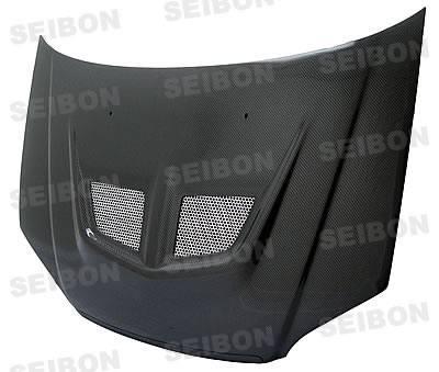 Civic HB - Hoods - Seibon - Honda Civic Seibon EVO Style Carbon Fiber Hood - HD0103HDCV-EVO