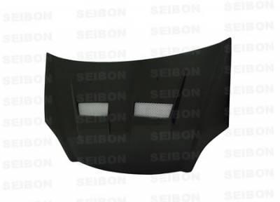 Civic HB - Hoods - Seibon - Honda Civic Seibon XT Style Carbon Fiber Hood - HD0103HDCV-XT