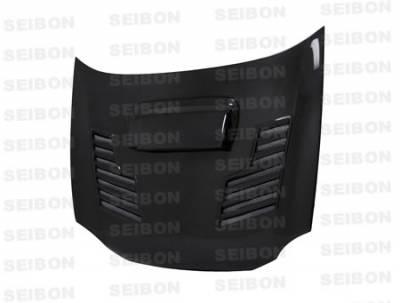 Impreza - Hoods - Seibon - Subaru Impreza Seibon CWII Style Carbon Fiber Hood - HD0203SBIMP-CWII