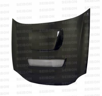 Impreza - Hoods - Seibon - Subaru Impreza Seibon RC Style Carbon Fiber Hood - HD0203SBIMP-RC
