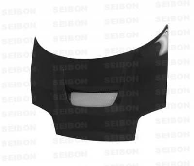 NSX - Hoods - Seibon - Acura NSX Seibon VSII Style Carbon Fiber Hood - HD0205ACNSX-VSII