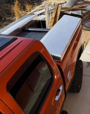Suv Truck Accessories - Tonneau Covers - Deflecta-Shield - Dodge Ram Deflecta-Shield Tonneau Cover & Storage Box Kit - 596109