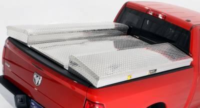 Suv Truck Accessories - Tonneau Covers - Deflecta-Shield - Toyota Tundra Deflecta-Shield Tonneau Cover & Storage Box Kit - 597109