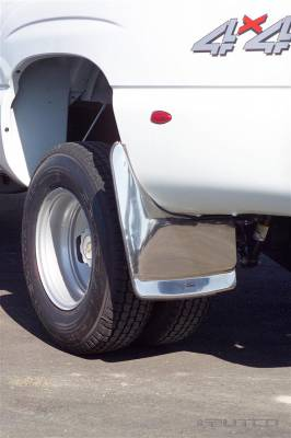 Suv Truck Accessories - Mud Flaps - Putco - Chevrolet Silverado Putco Form Fitted Mud Skins - Rear - 79538