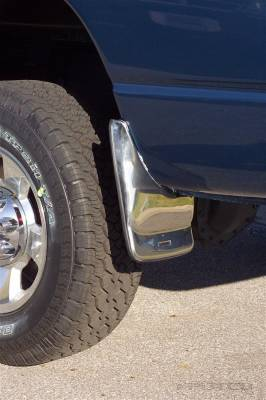 Suv Truck Accessories - Mud Flaps - Putco - Dodge Ram Putco Form Fitted Mud Skins - Front - 79632