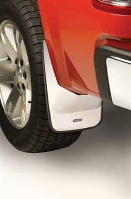 Suv Truck Accessories - Mud Flaps - Putco - Chevrolet Silverado Putco Form Fitted Mud Skins - Rear - 79690