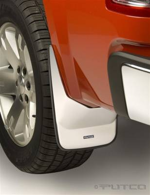Suv Truck Accessories - Mud Flaps - Putco - GMC Sierra Putco Form Fitted Mud Skins - Rear - 79692