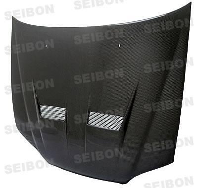 Accord 2Dr - Hoods - Seibon - Honda Accord 2DR Seibon XT Style Carbon Fiber Hood - HD0305HDAC2D-XT