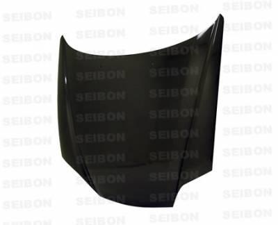 Tiburon - Hoods - Seibon - Hyundai Tiburon Seibon OEM Style Carbon Fiber Hood - HD0305HYTB-OE
