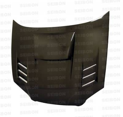 Impreza - Hoods - Seibon - Subaru Impreza Seibon CWII Style Carbon Fiber Hood - HD0405SBIMP-CWII