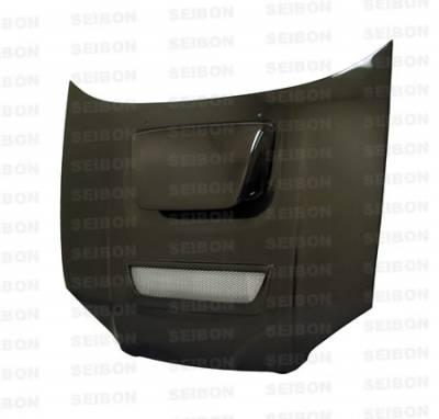Impreza - Hoods - Seibon - Subaru Impreza Seibon RC Style Carbon Fiber Hood - HD0405SBIMP-RC