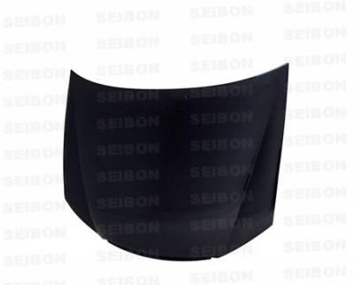 Spectra - Hoods - Seibon - Kia Spectra Seibon OEM Style Carbon Fiber Hood - HD0506KISP-OE