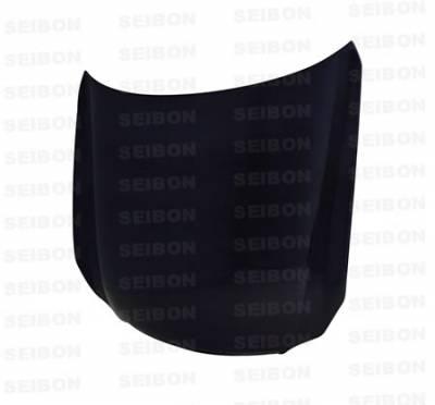 M45 - Hoods - Seibon - Infiniti M45 Seibon OEM Style Carbon Fiber Hood - HD0607INFM-OE