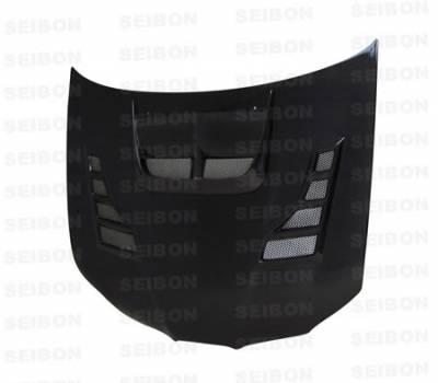 Impreza - Hoods - Seibon - Subaru Impreza Seibon CW Style Carbon Fiber Hood - HD0607SBIMP-CW