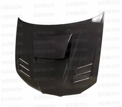 Impreza - Hoods - Seibon - Subaru Impreza Seibon CWII Style Carbon Fiber Hood - HD0607SBIMP-CWII