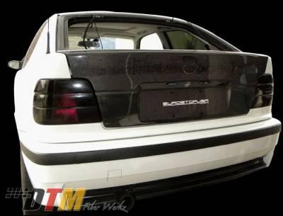 3 Series 2Dr - Trunk Hatch - DTM Fiberwerkz - BMW 3 Series DTM Fiberwerkz OEM Style Trunk - E36 318ti