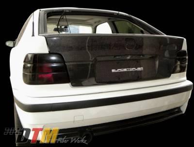 3 Series 2Dr - Trunk Hatch - DTM Fiberwerkz - BMW 3 Series DTM Fiberwerkz OEM Style Trunk- CFRP - E36-318TI