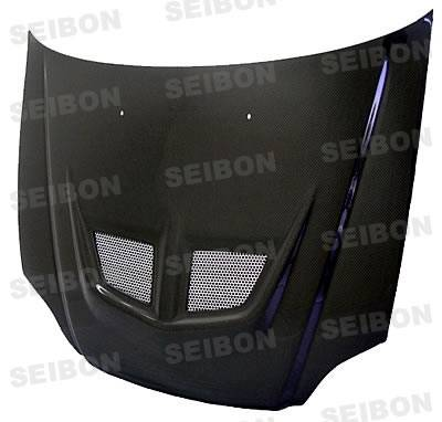 Civic HB - Hoods - Seibon - Honda Civic HB Seibon ZC Style Carbon Fiber Hood - HD8891HDCRX-ZC