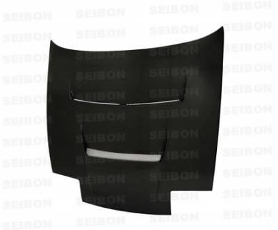 180SX - Hoods - Seibon - Nissan 180SX Seibon DV Style Carbon Fiber Hood - HD8994NS240-DV
