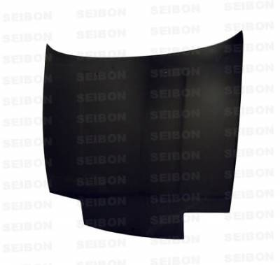 180SX - Hoods - Seibon - Nissan 180SX Seibon OEM Style Carbon Fiber Hood - HD8994NS240-OE