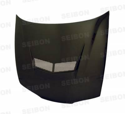 Integra 4Dr - Hoods - Seibon - Acura Integra Seibon VSII Style Carbon Fiber Hood - HD9093ACIN-VSII