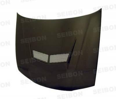 Accord Wagon - Hoods - Seibon - Honda Accord Seibon VSII Style Carbon Fiber Hood - HD9093HDAC-VSII