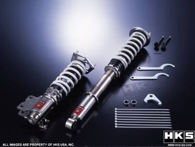Suspension - Suspension Systems - HKS - Honda Fit HKS Hipermax III Suspension Kit - 80140-BH002