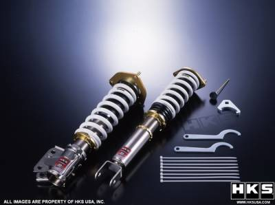 Suspension - Suspension Systems - HKS - Subaru WRX HKS Hipermax III Sport Suspension Kit - 80155-AF008
