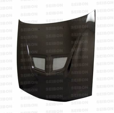 Eclipse - Hoods - Seibon - Mitsubishi Eclipse Seibon EVO Style Carbon Fiber Hood - HD9294MITEC-EVO