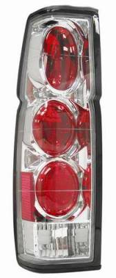 Matrix - Chrome Euro Taillights - 9281