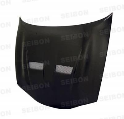 Eclipse - Hoods - Seibon - Mitsubishi Eclipse Seibon VSII Style Carbon Fiber Hood - HD9294MITEC-VSII