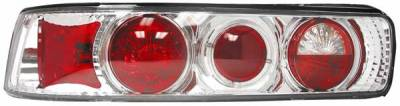 Headlights & Tail Lights - Tail Lights - Matrix - Clear Euro Taillights - 9287