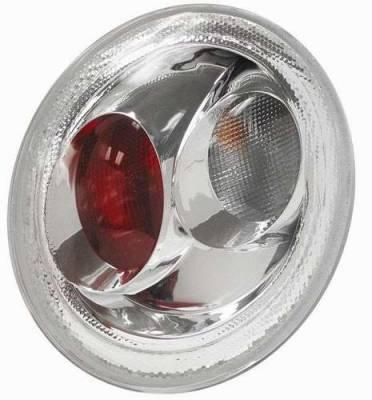 Headlights & Tail Lights - Tail Lights - Matrix - Clear Euro Taillights - 9346