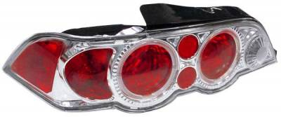 Matrix - Chrome Euro Taillights - 9395