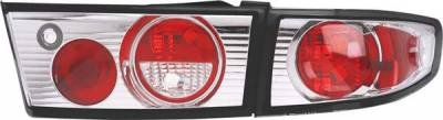 Headlights & Tail Lights - Tail Lights - Matrix - Chrome Euro Taillights - 93079