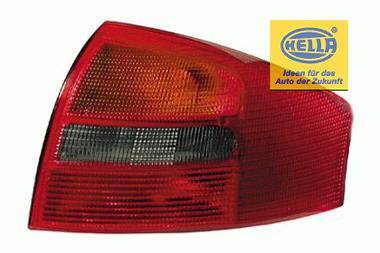 Hella - Red Gray Taillights