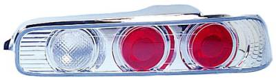In Pro Carwear - Acura Integra 2DR IPCW Taillights - Crystal Eyes - Crystal Clear - 1 Pair - CWT-107C2