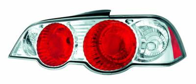 In Pro Carwear - Acura RSX IPCW Taillights - Crystal Eyes - Crystal Clear - 1 Pair - CWT-109C2