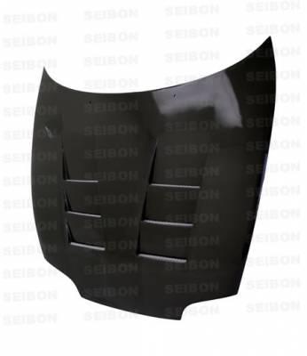 Supra - Hoods - Seibon - Toyota Supra Seibon TS Style Carbon Fiber Hood - HD9398TYSUP-TS