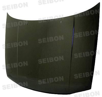 Golf - Hoods - Seibon - Volkswagen Golf Seibon OEM Style Carbon Fiber Hood - HD9398VWG3-OE