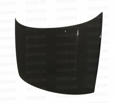 Jetta - Hoods - Seibon - Volkswagen Jetta Seibon OEM Style Carbon Fiber Hood - HD9399VWJE-OE