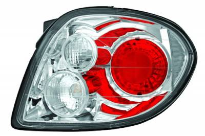 Headlights & Tail Lights - Tail Lights - In Pro Carwear - Hyundai Tiburon IPCW Taillights - Crystal Eyes - 1 Pair - CWT-1201C2