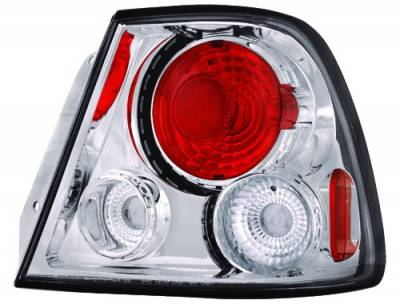 Headlights & Tail Lights - Tail Lights - In Pro Carwear - Hyundai Accent IPCW Taillights - Crystal Eyes - CWT-1203C2
