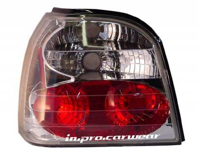 Headlights & Tail Lights - Tail Lights - In Pro Carwear - Volkswagen Golf IPCW Taillights - Crystal Eyes - 1 Pair - CWT-1501C2